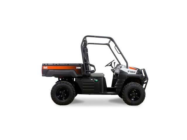 2017, Bobcat, 3400 4 x 4 Gas, Utility Vehicles