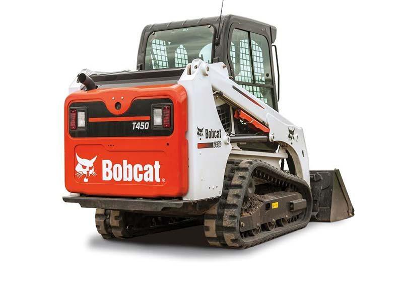 2016, Bobcat, T450, Loaders