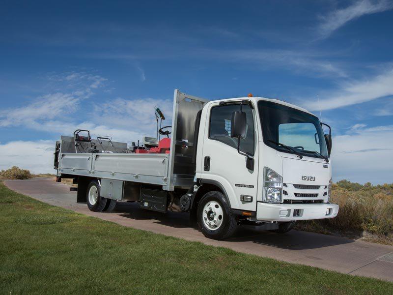 Used, 2016, Isuzu, NPR-HD Diesel, Cab / Chassis Trucks