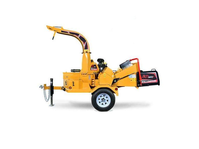 Used, 2018, Wallenstein, BXTR6438F Brush Chipper, Chippers / Shredders