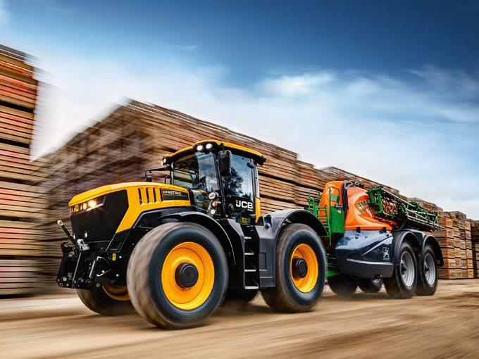 2019, JCB, Fastrac 8330, Tractors