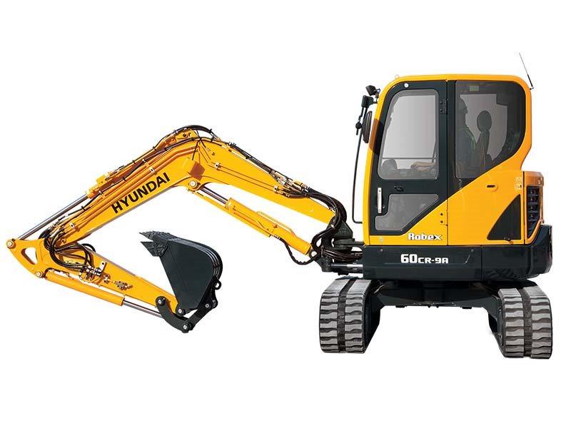 New, 2017, Hyundai, R60CR-9A, Excavators