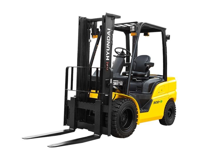 New, 2017, Hyundai, 25D-9, Forklifts / Lift Trucks