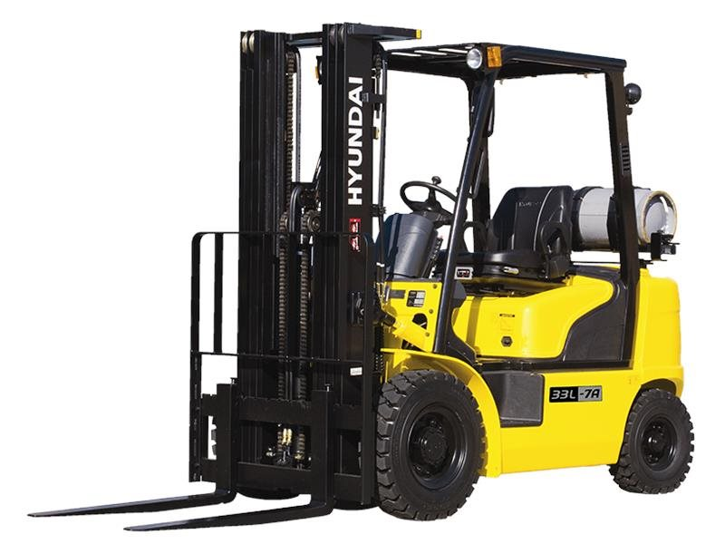New, 2017, Hyundai, 25L-7A, Forklifts / Lift Trucks