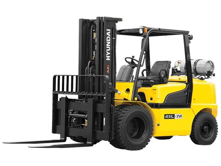 New, 2017, Hyundai, 35L-7A, Forklifts / Lift Trucks