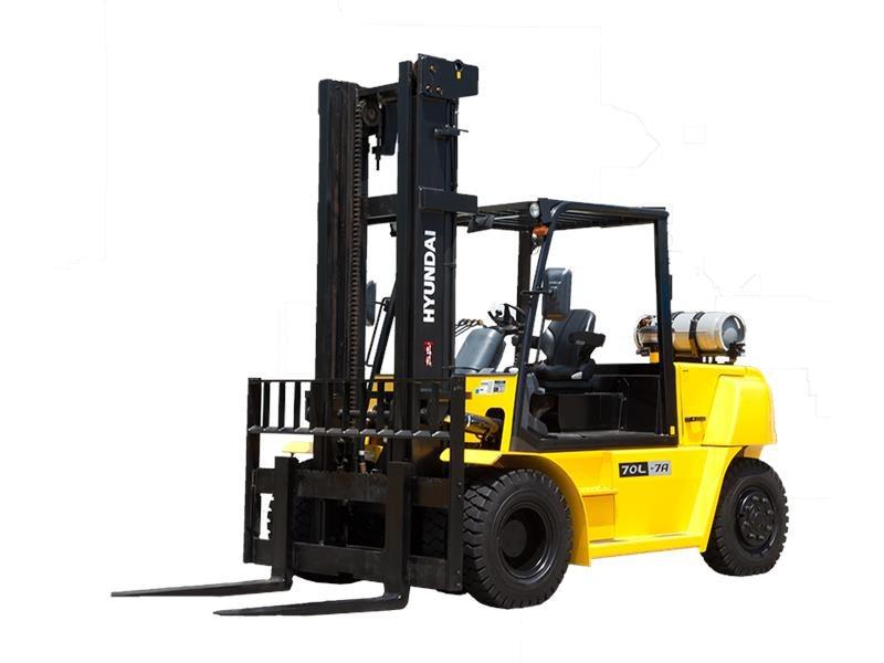New, 2017, Hyundai, 70L-7A, Forklifts / Lift Trucks