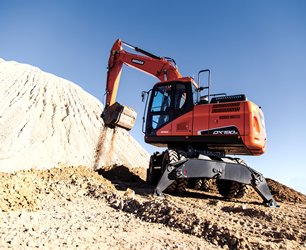 Used, 2017, Doosan Construction, DX190W-5, Excavators