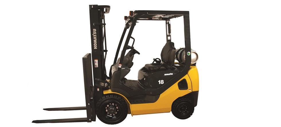 2019, Komatsu, FG18HTU-20, Forklifts / Lift Trucks