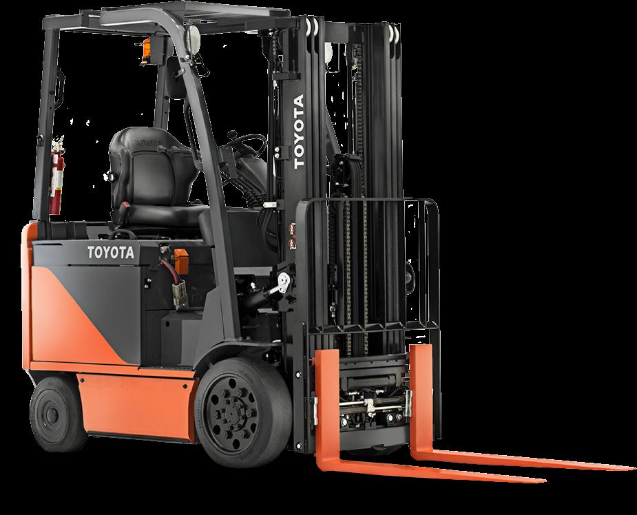2017, Toyota Industrial Equipment, 8FBCU25-COMP, Forklifts / Lift Trucks