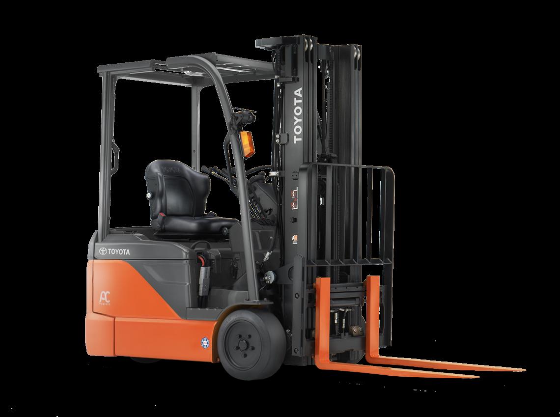 2017, Toyota Industrial Equipment, 8FBE15U, Forklifts / Lift Trucks