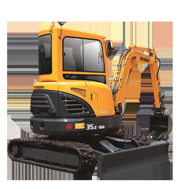 New, 2017, Hyundai, R35Z-9A, Excavators