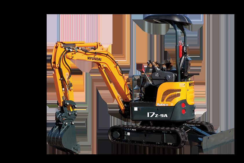 New, 2017, Hyundai, R17Z-9A, Excavators