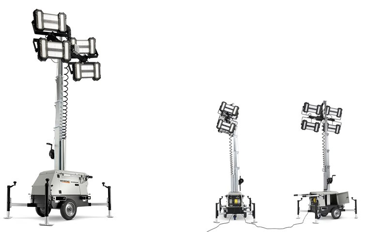 New, 2018, Generac, PLT240 LINKTower, Light Towers