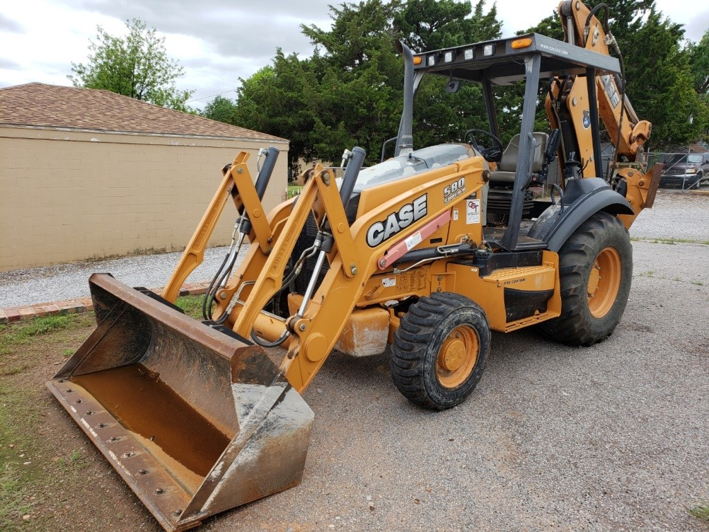 Used, 2014, Case Construction, 580 Super N - 4WD Long Lip 82 in. Bucket, Backhoe Loaders
