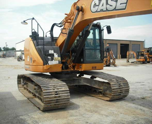 Used, 2013, Case Construction, CX235C, Excavators