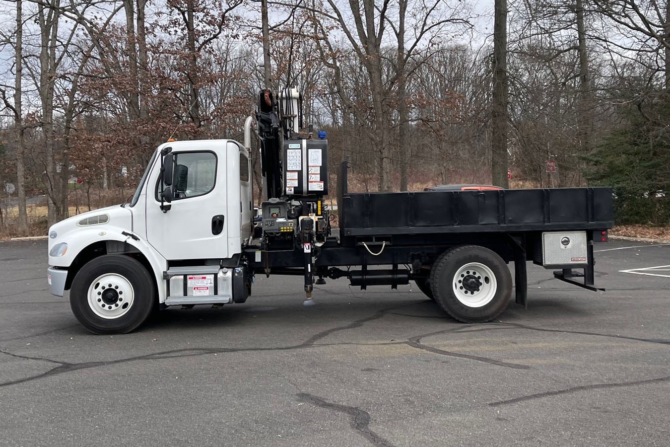 Used, 2014, Other, FREIGHTLINER M2-106 W/ 2013 PM 18023 SPLC KNUCKLEBOOM: 8 TON, Other