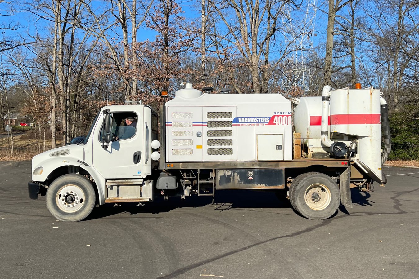 Used, 2007, Other, FREIGHTLINER M2-106 W/ VACMASTER VND-S4000: VACUUM EXCAVATOR, Other