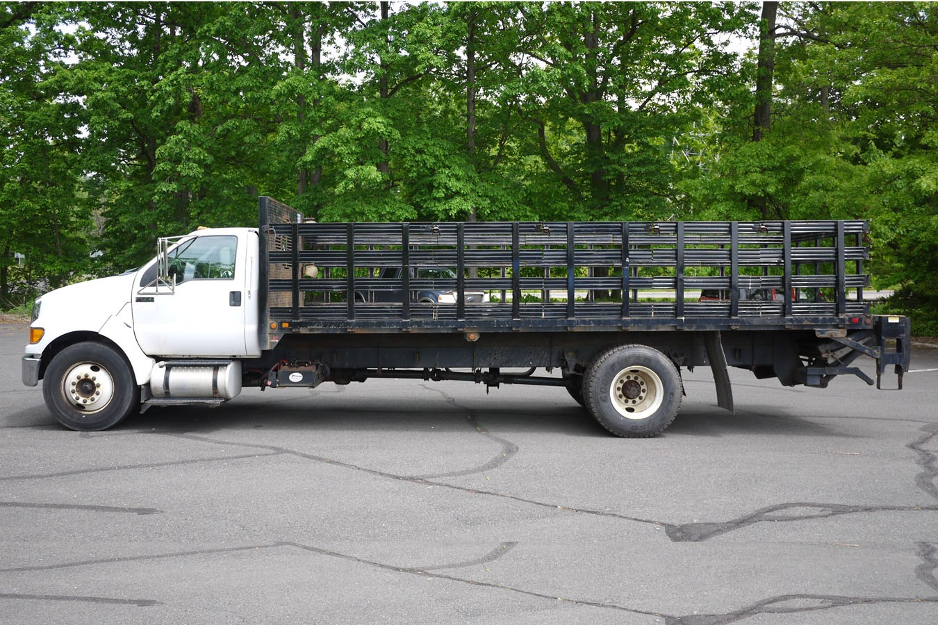 Used, 2013, Other, FORD F650 S/DUTY W/ 22' STEEL FLATBED, Other