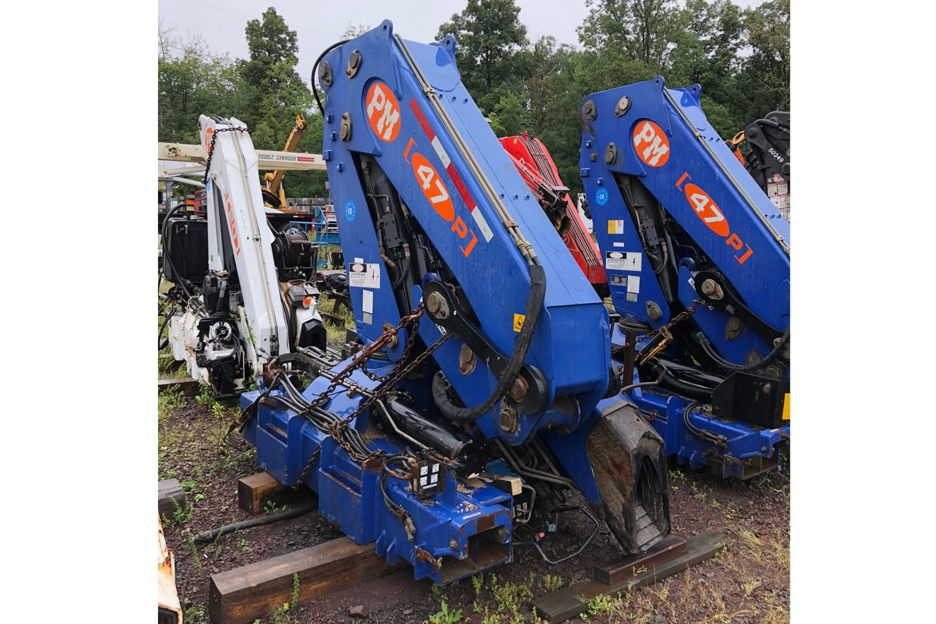 Used, 2006, Other, PM 47025: 23 TON UNMOUNTED KNUCKLEBOOM, Other