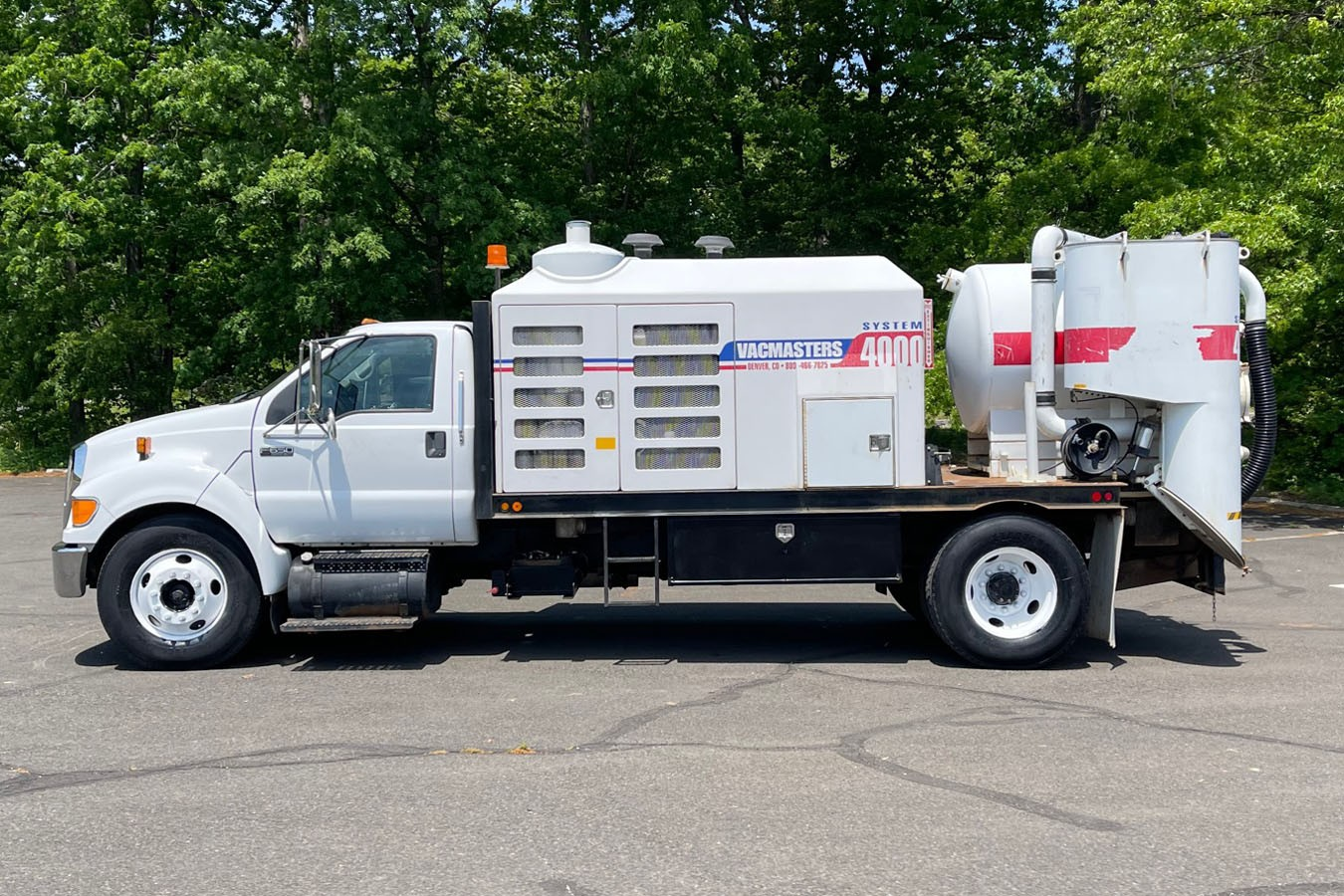 Used, 2008, Other, FORD F650 W/ VACMASTER VACUUM EXCAVATOR MODEL VND-S4000, Other