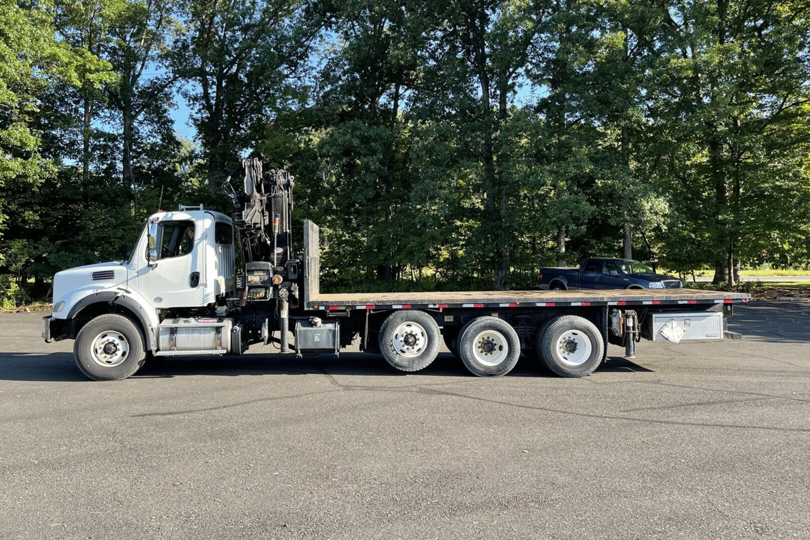 Used, 2013, Other, FREIGHTLINER M2-112 W/ 2006 HIAB 322E-5: 10 TON KNUCKLEBOOM TRUCK, Other