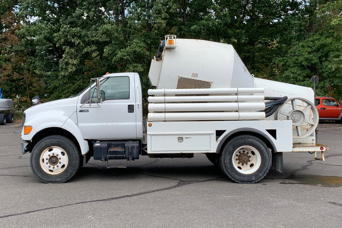 Used, 2001, Other, FORD F750 W/ OK CHAMPION POWER RODDER MODEL S660-36-ATO - MISC, Other