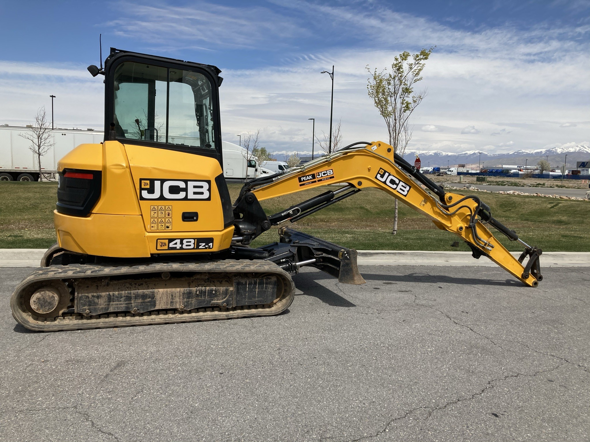 Used, 2016, JCB, 48Z-1, Excavators