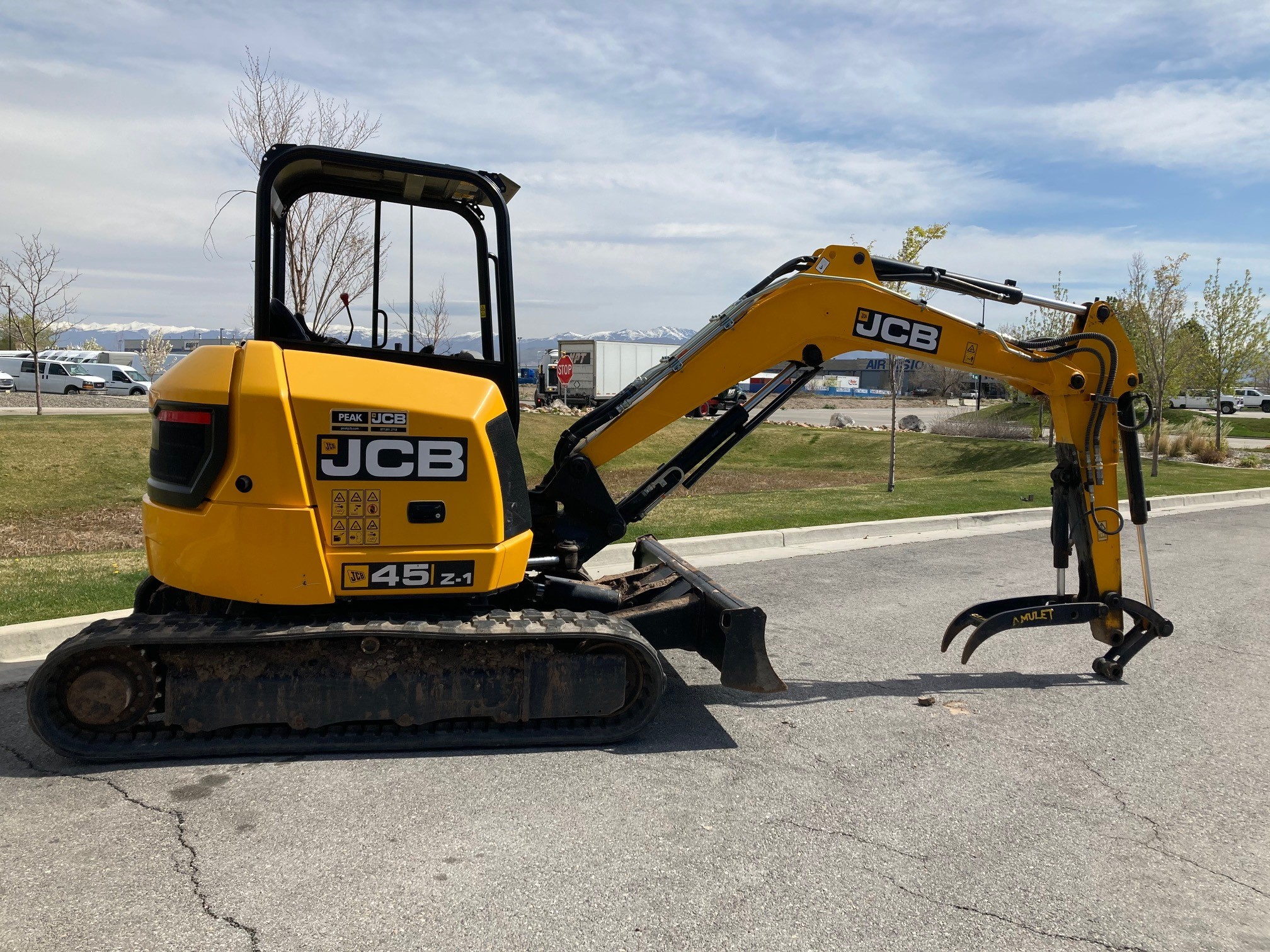 Used, 2016, JCB, 45Z-1, Excavators