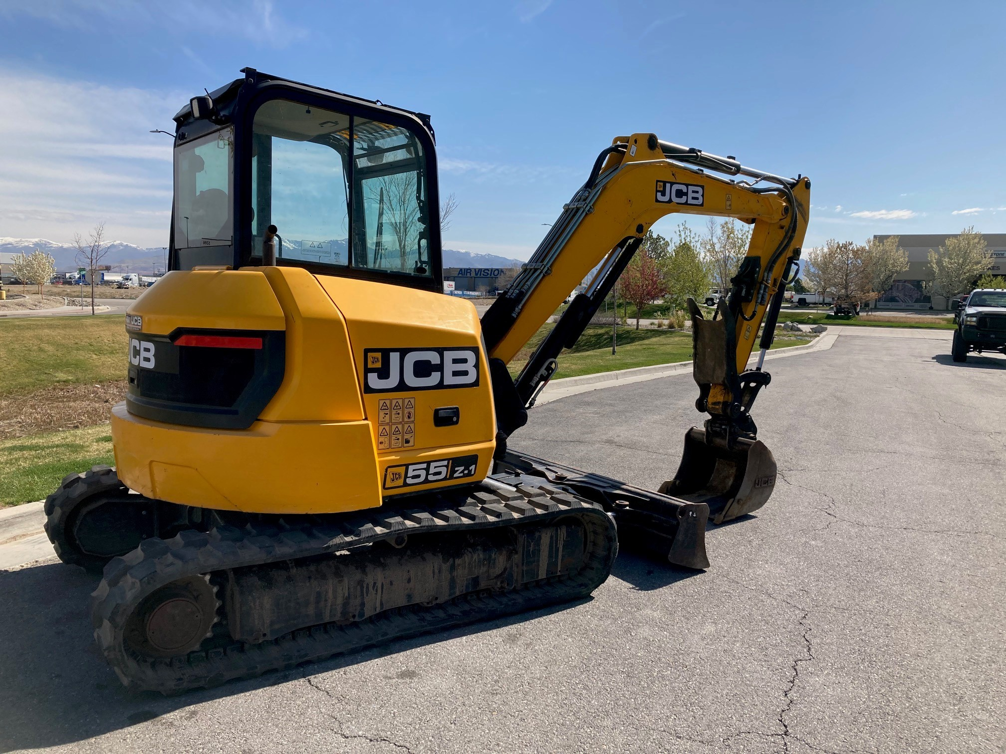 Used, 2016, JCB, 55Z-1, Excavators
