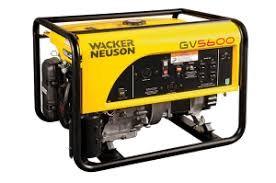 Used, 2018, Wacker Neuson, GP 5600A, Generators