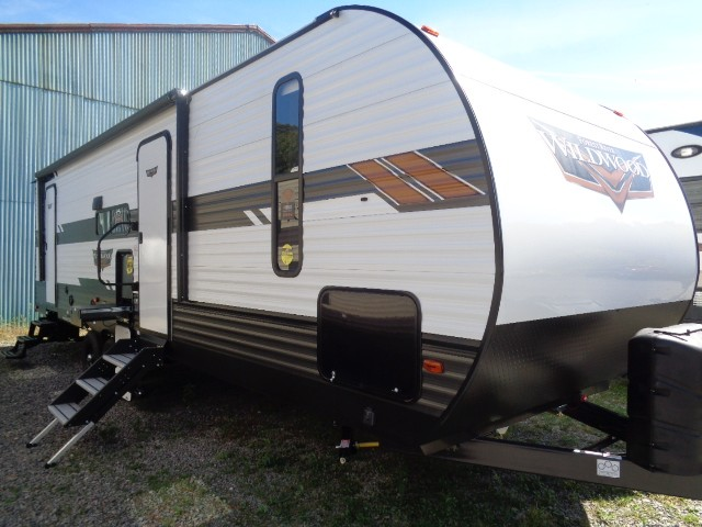 New, 2021, Forest River, WILDWOOD 26 DBUD, Travel Trailers