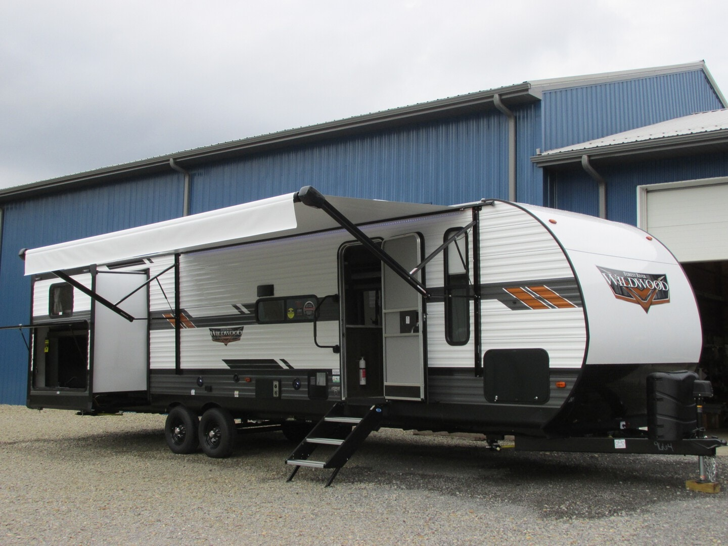 New, 2022, Forest River, WILDWOOD 31 KQBTS, Travel Trailers