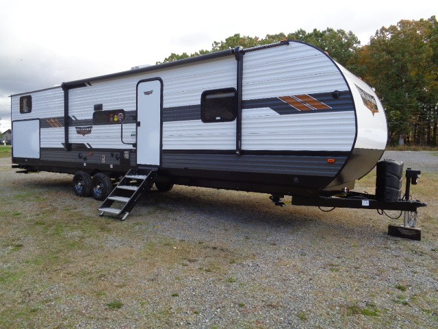 New, 2021, Forest River, Wildwood 33TS, Travel Trailers