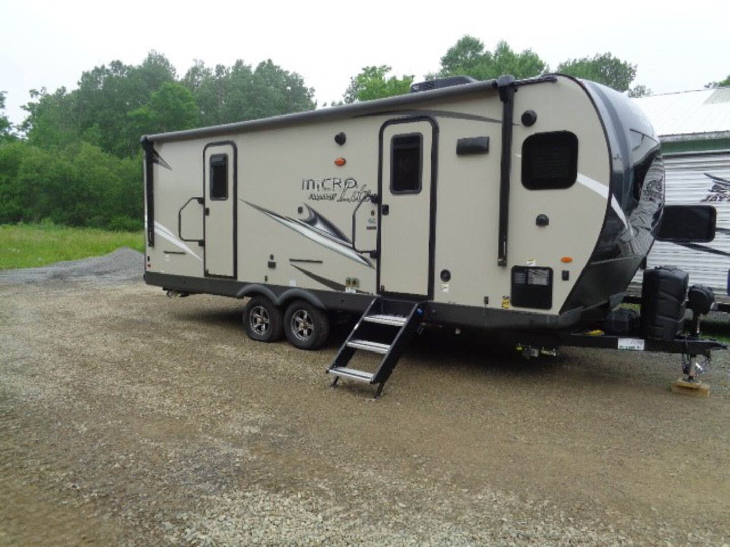 New, 2021, Forest River, MICRO LITE 25 FKBS, Travel Trailers