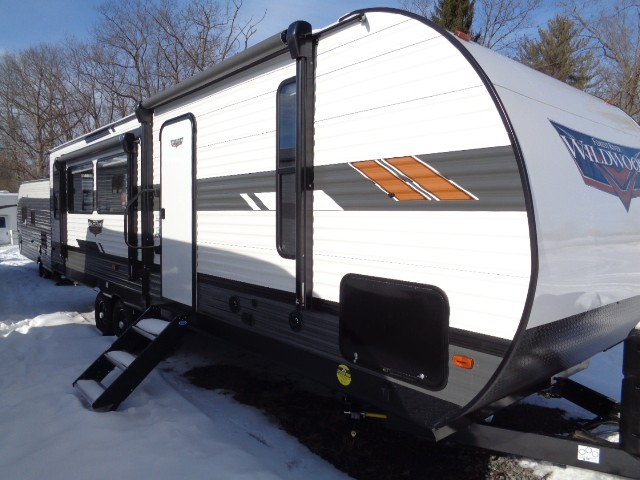 New, 2021, Forest River, WILDWOOD 27 RE, Travel Trailers