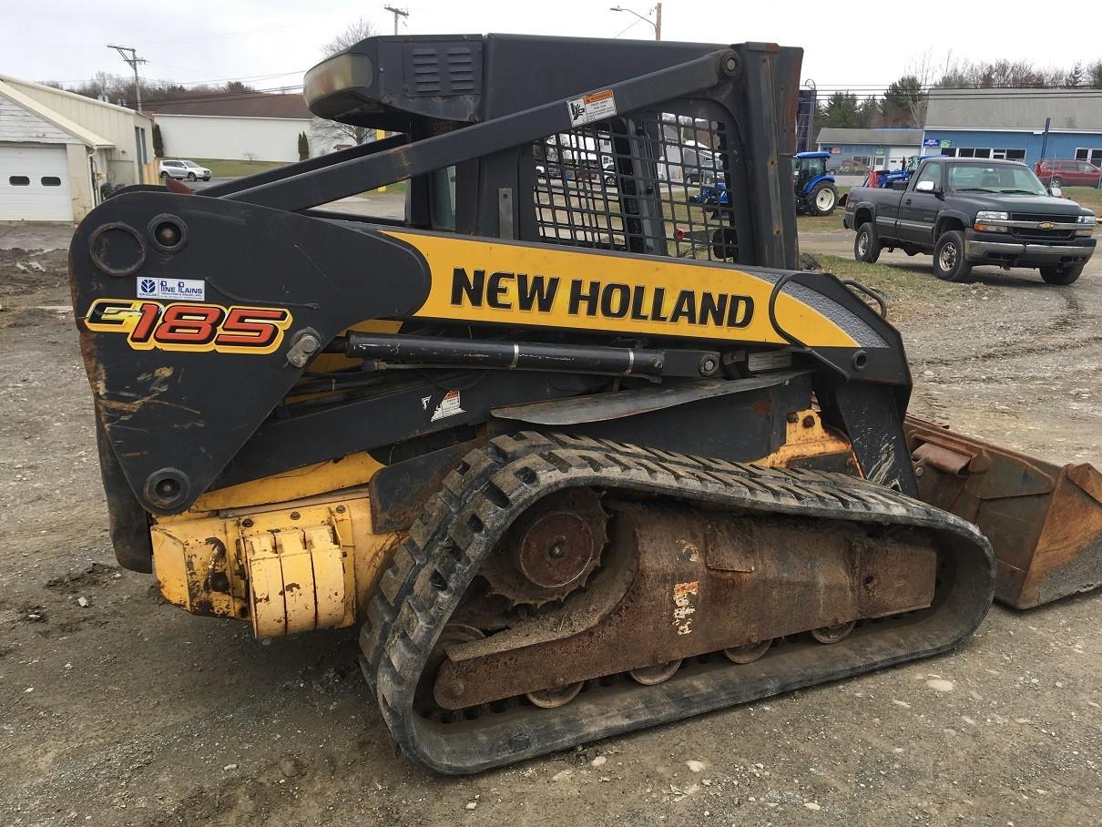 Used, 2008, New Holland, C185, Skid Steers