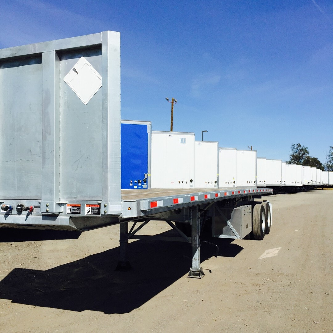 New, 2022, Hyundai Translead, 36ft Fork Lift , Flatbed Trailers