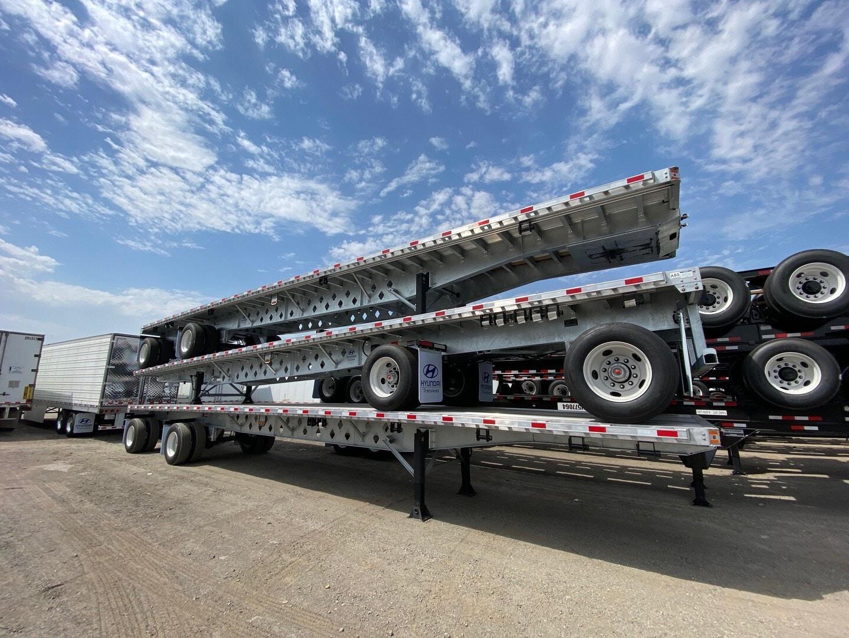 New, 2022, Hyundai Translead, 48 ft Spread Axle , Flatbed Trailers