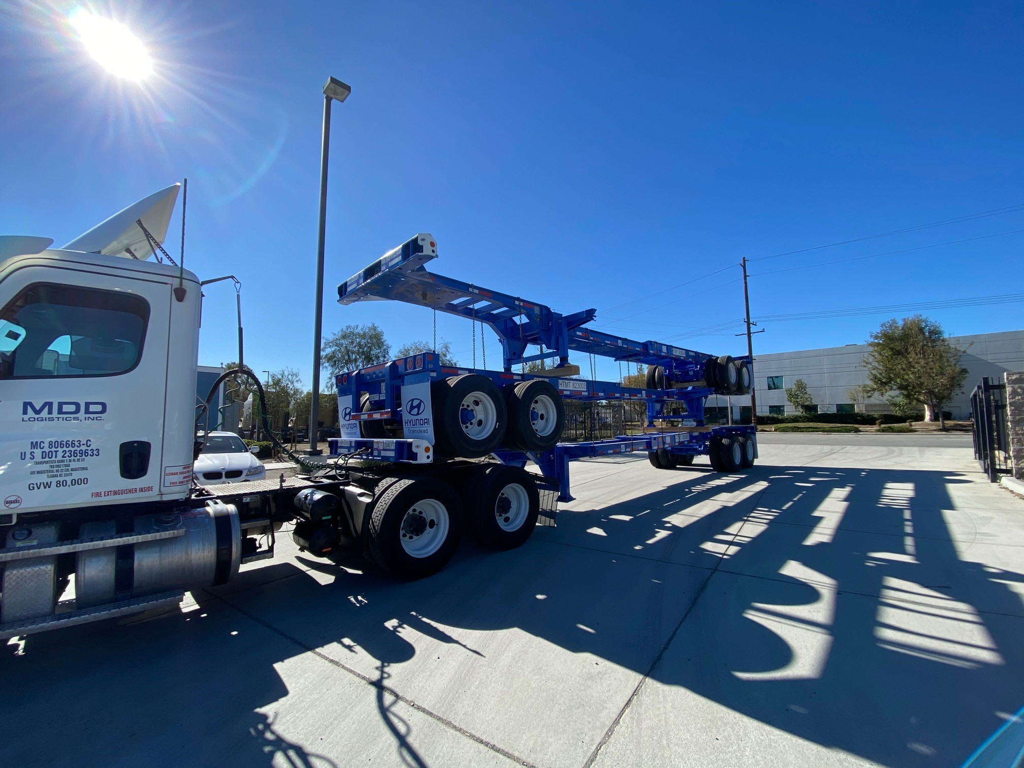 New, 2019, Hyundai Translead, Chassis, Truck Trailers