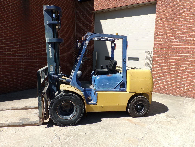 Used, 2003, Komatsu, FD50AT2-7, Forklifts / Lift Trucks