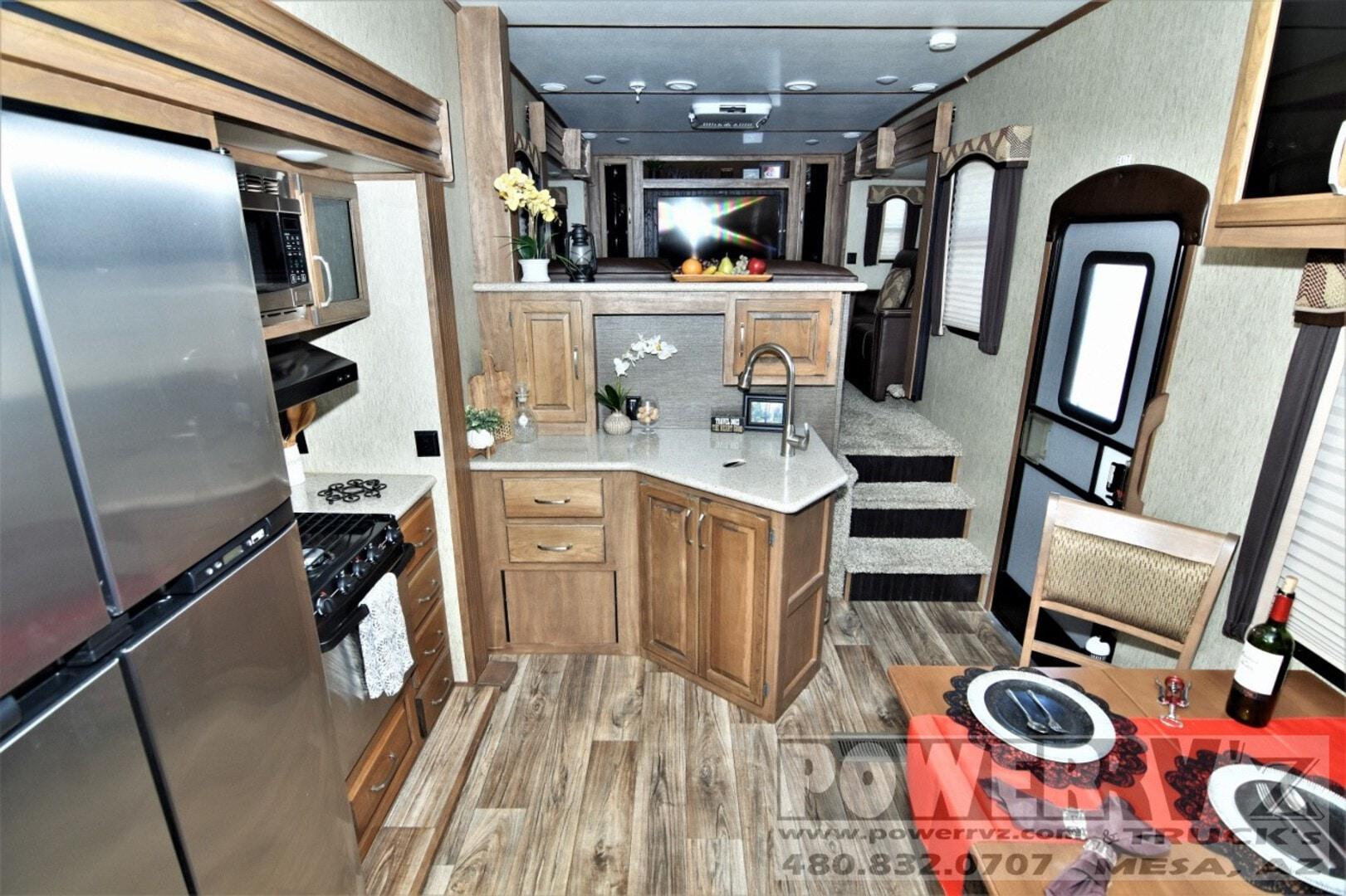 Used, 2017, Keystone, Laredo 340FL, Fifth Wheels