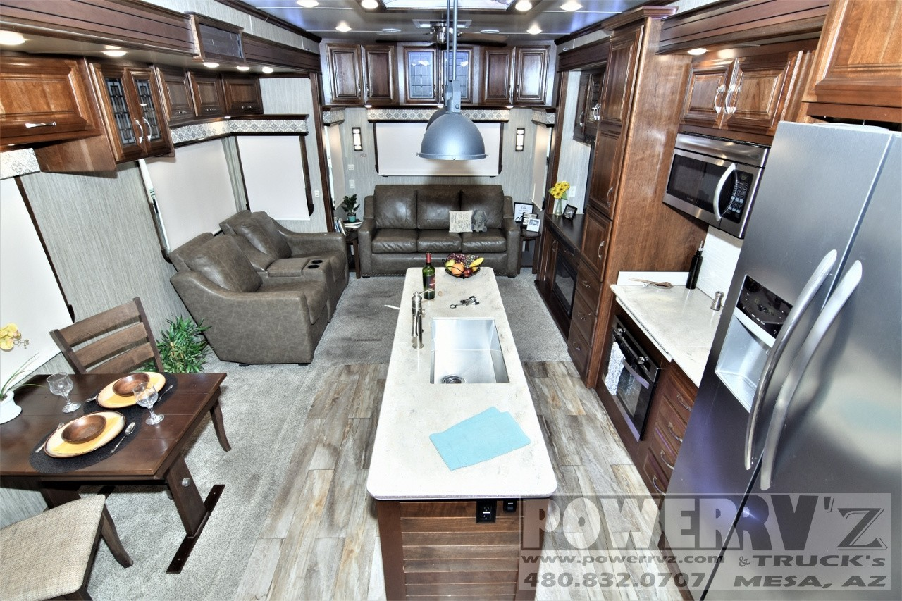Used, 2018, DRV, Mobile Suites Aire MSA 38, Fifth Wheels