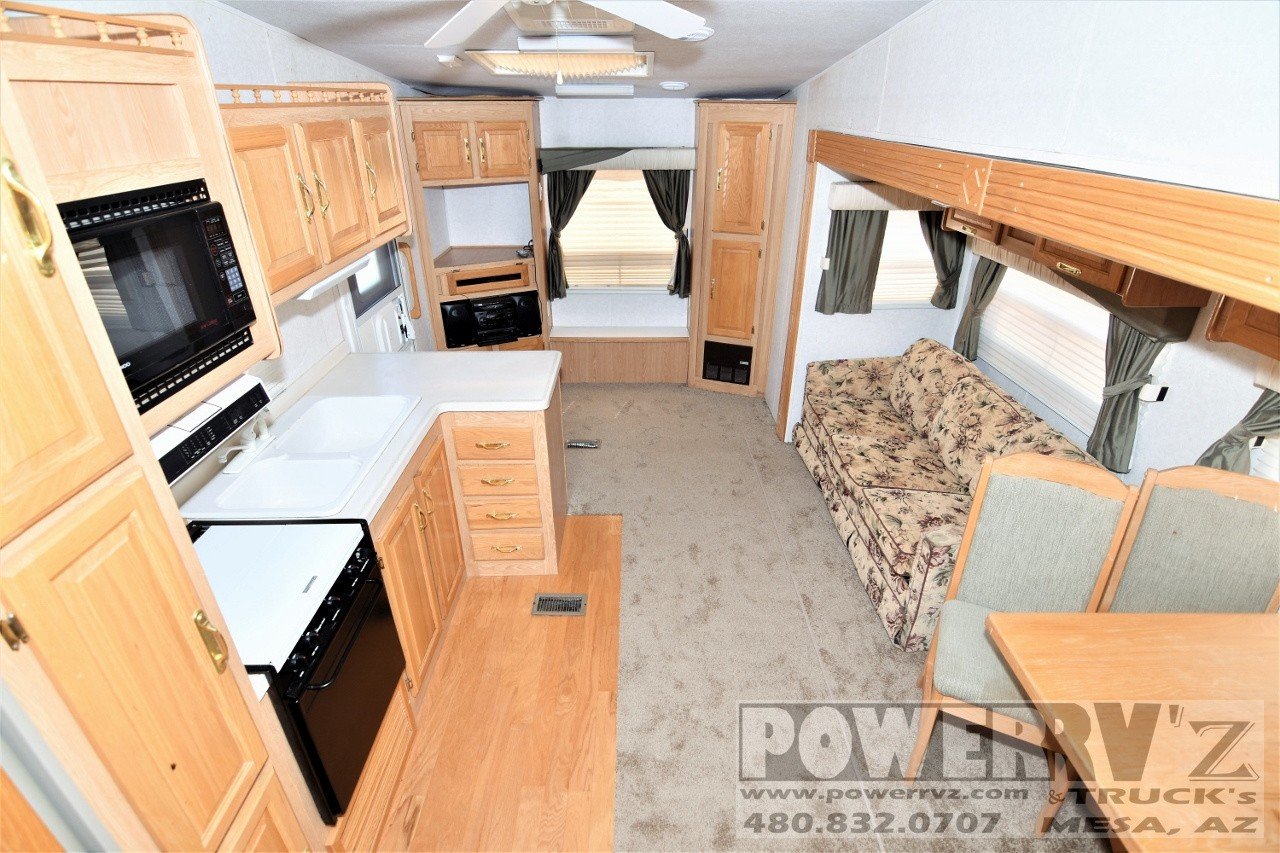 Used, 2000, Forest River, Spinnaker 29RLB, Fifth Wheels