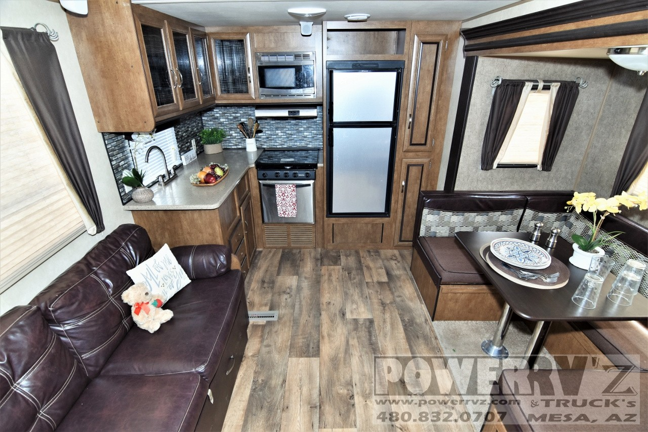 Used, 2017, Forest River, Wildwood 25RKS, Travel Trailers