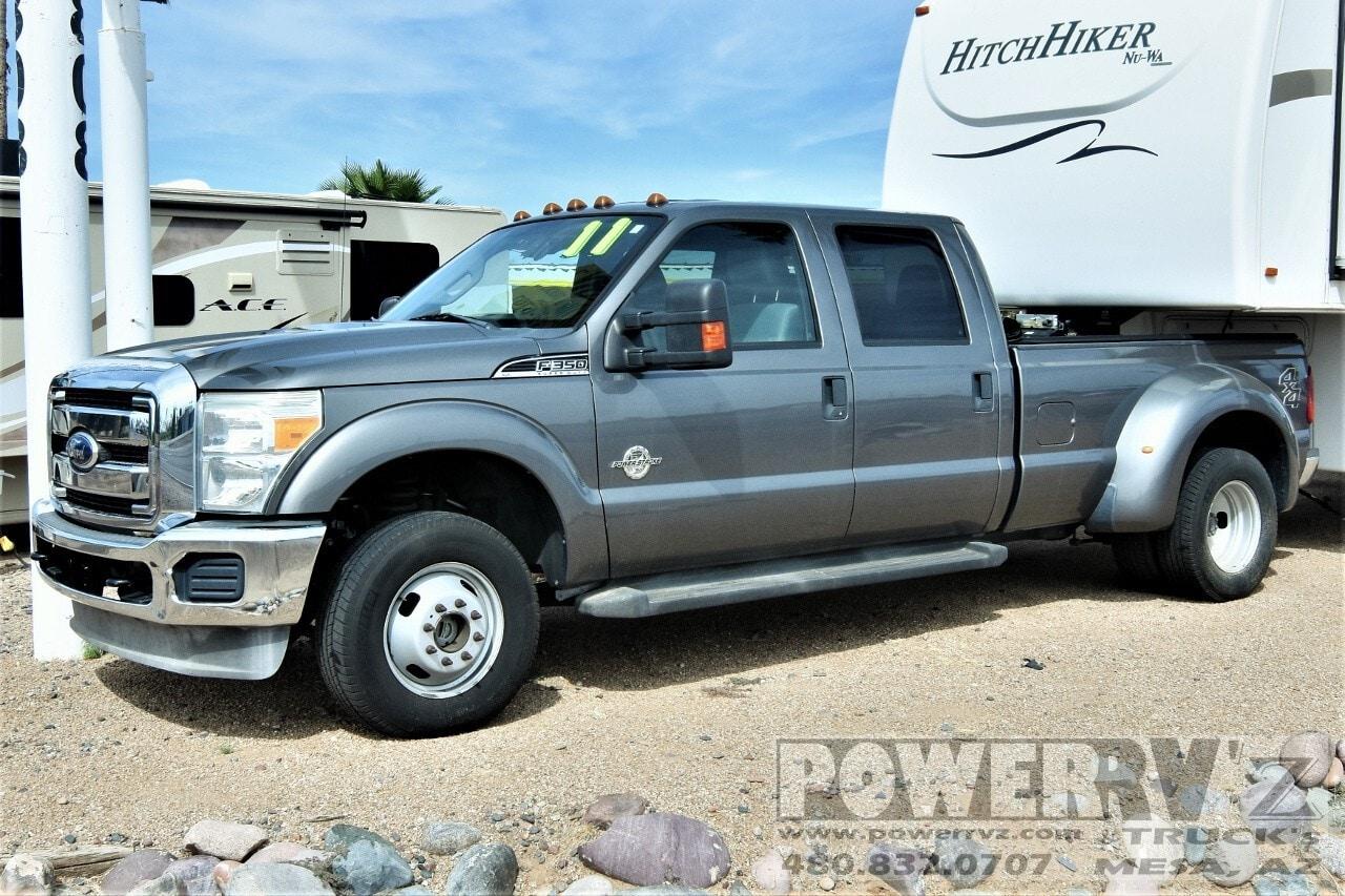 Used, 2011, Ford, F-350 XLT Crew Cab, Pickup Trucks