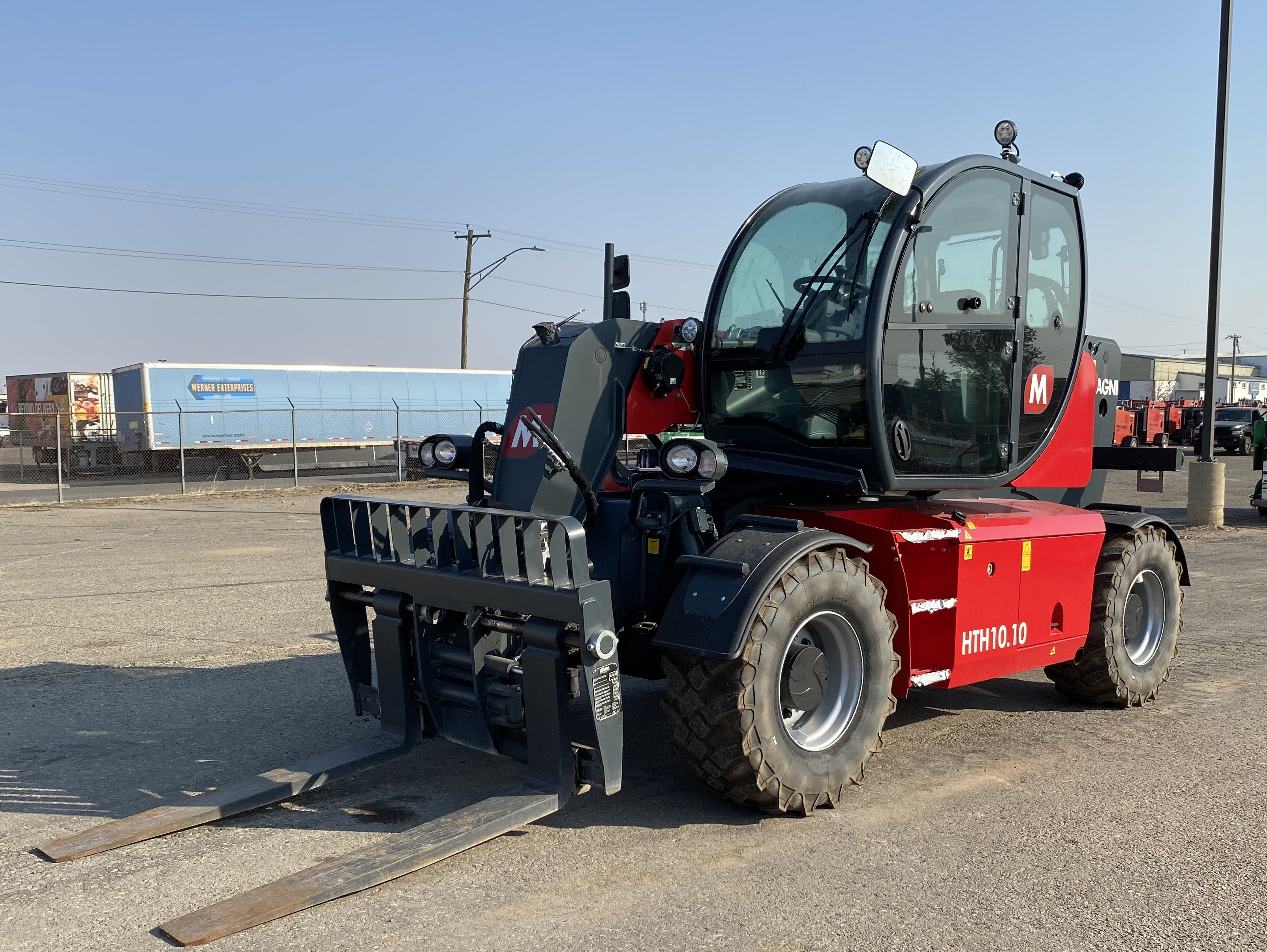 New, 2019, Other, HTH 10.10, Telehandlers