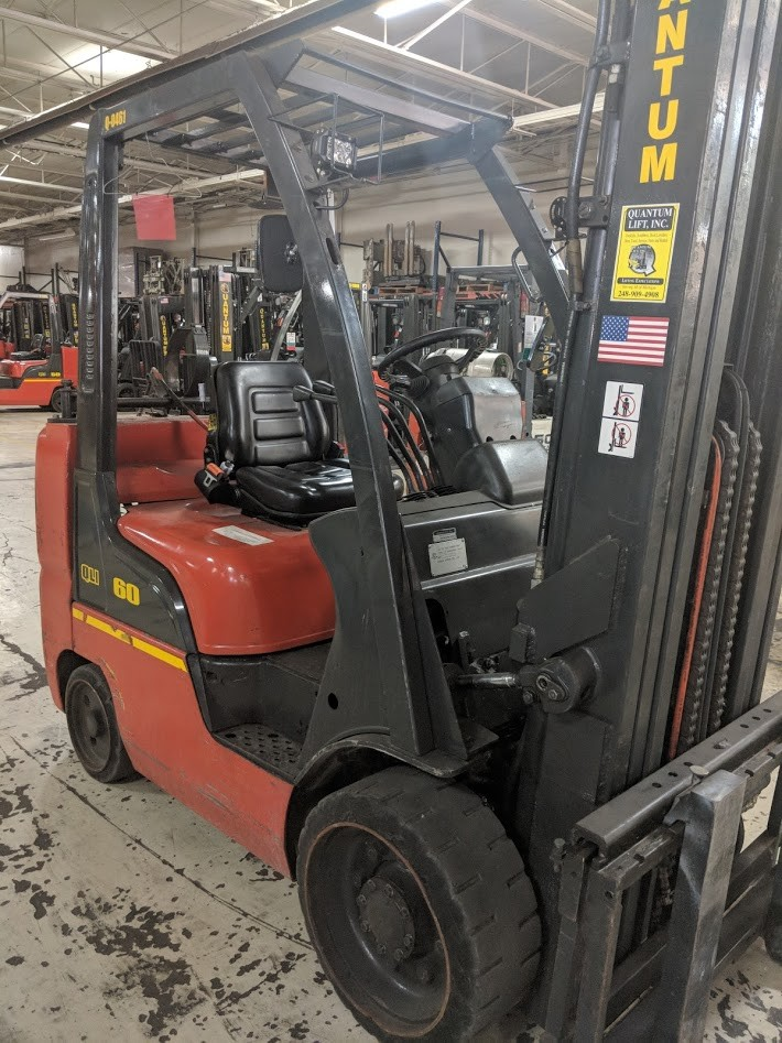 Used, UniCarriers, MCU1F2A30LV, Forklifts / Lift Trucks