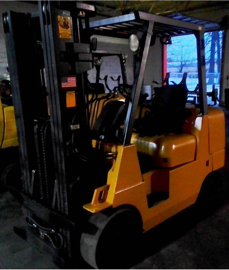 Used, CAT Lift Trucks, GC40K, Forklifts / Lift Trucks