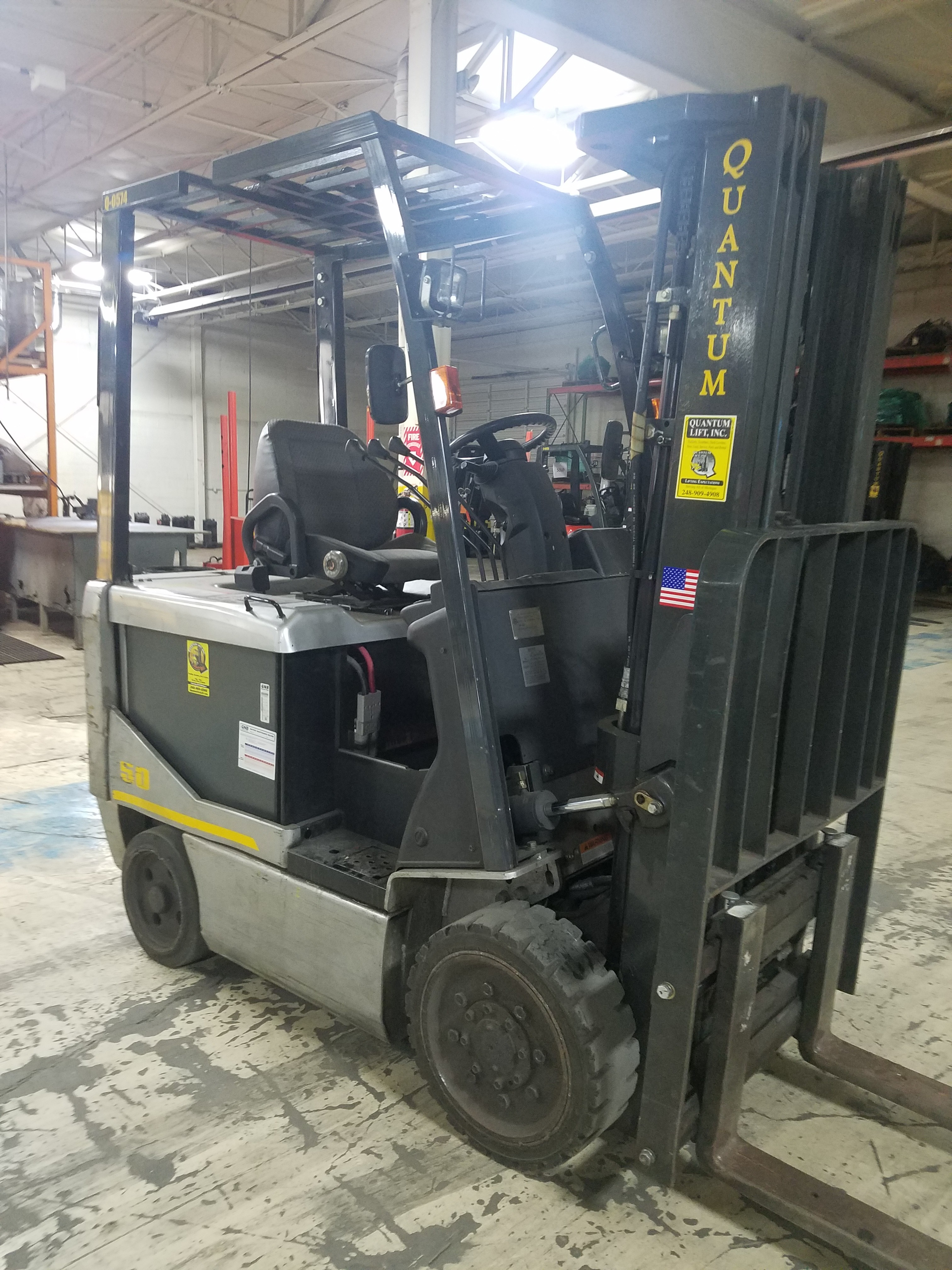 Used, UniCarriers, CP1F2L25S, Forklifts / Lift Trucks