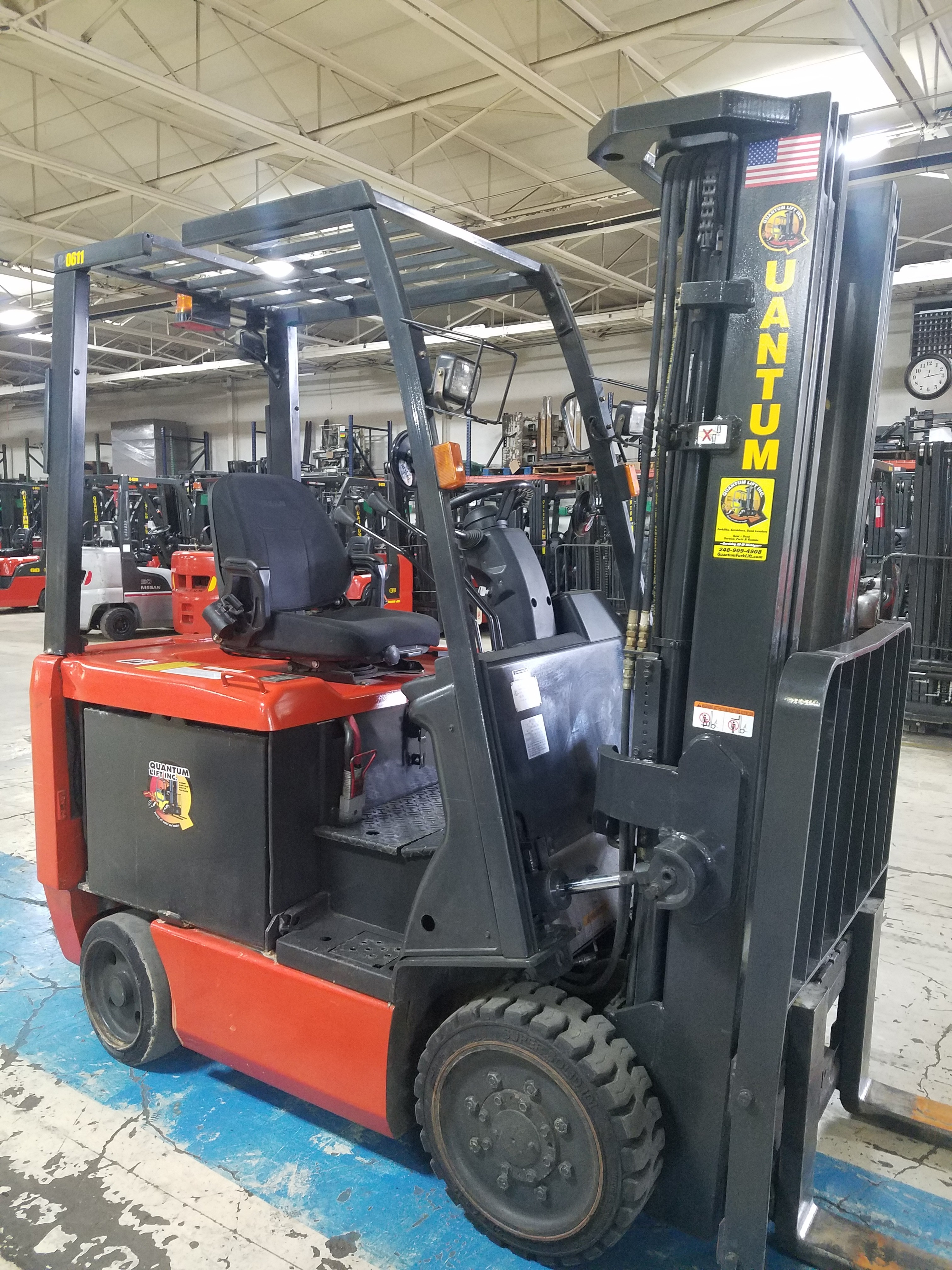 Used, UniCarriers, MCT1B2L25E, Forklifts / Lift Trucks